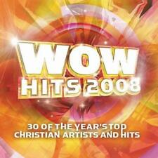 2 CD WOW Hits 2008 Chris Tomlin Jeremy Camp barlowgirl Natalie Grant Selah NUOVO