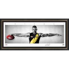 Dustin Martin Signed Richmond Mini Wings Official AFL Print Framed 2017 Brownlow