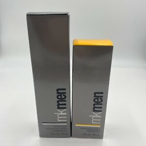 Mary Kay MK Men Daily Facial Wash and Advanced Facial Hydrator Dry - Oily NWOT