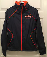 NWT Virginia UVA Cavaliers Women's Softball Team Issued Nike Blue Jacket XS