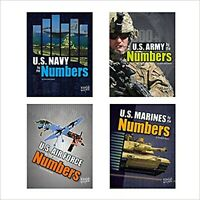 Military by the Numbers [Paperback] Leavitt, Amie Jane; Raum, Elizabeth and S...