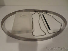 """Used Wayne Products Belt/Chain for Portable Mini Skimmer, 18-3/8"""" Length, 36067"""