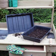 More details for full size heavyweight gravel trays water propagator seed without holes