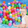 200 Stück Bunte Farben Kinderbälle Spielbälle Bällebad Kugelbad Bälle 55mm