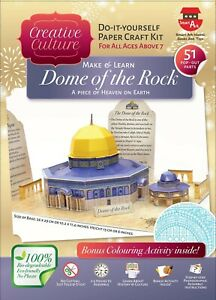 Dome of the rock craft kit - Islamic Educational Activity Learning