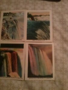 Vintage small postcards Niagara Falls United States