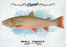 15/16 UPPER DECK CHAMPS FISH #F-9 BULL TROUT *18910