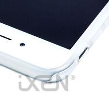 Fundas y carcasas metálicas de metal color principal plata para teléfonos móviles y PDAs