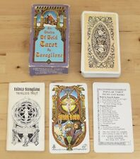 Vintage 1979 The Stairs of Gold Tavaglione Tarot Deck Cards w/Booklet COMPLETE