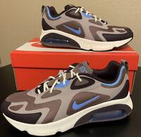 Nike Air Max 200 Mens Running Sportswear Shoes AQ2568 200 Plum Eclipse Blue NIB