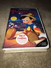 Disney's Pinocchio (VHS, 1993) - Clamshell - NEW and SEALED