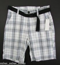 Men Flat Front Shorts Size 28 Cotton Zoo York