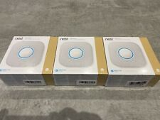 Lot of 3x Nest S3003LWGB Protect 2nd Gen Smoke & Monoxide Alarm (Wired 120v)