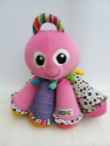 LAMAZE Pink Octotunes Octopus Sensory Musical Soft Plush Activity Toy Sounds