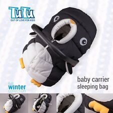 FOOTMUFF HOOD Warm Cover Sleeping Bag for Baby Infant Car Seat Carrier PENGUIN