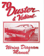 1970  70   PLYMOUTH  DUSTER/VALIANT  WIRING  DIAGRAM