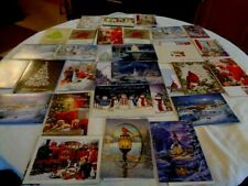 Christmas Cards Lot Of 27 Beautiful Cards With Envelopes