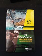 2016 $2 Olympic Games 5 Coloured Coins set and paralympic coin in folder