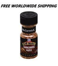 McCormick Grill Mates Smokehouse Maple 3.5 Oz Seasoning FREE WORLDWIDE SHIPPING