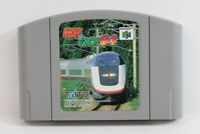 Densha de Go 64 Densya Train Nintendo 64 N64 Japan Import US Seller E1335
