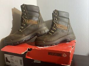 """WOLVERINE CABOR EPX® WATERPROOF 8"""" BOOT, Men's Size 11.5M, Perfect Condition"""