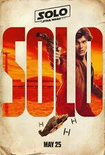 Solo A Star Wars Story - original DS movie poster - 27x40 D/S INTL ADV Han  2018