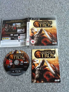 PLAYSTATION 3 GAME _ WARRIORS : LEGENDS OF TROY + MANUAL