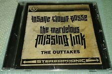 NEW INSANE CLOWN POSSE THE MARVELOUS MISSING LINK OUTTAKES CD ICP JUGGALOS