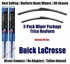 2pk Super-Premium NeoForm Wipers fit 2010-2016 Buick LaCrosse - 16260/180