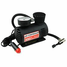 NEW 12V MINI COMPACT AIR COMPRESSOR 300 PSI CIGARETTE BIKE CAR VAN TYRE INFLATOR