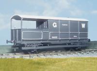 Parkside PS44 O Gauge GWR 20t Goods Brake Van Kit