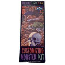Customizing Monster Kit Skull Lizard Rat Polar Lights Model Kit