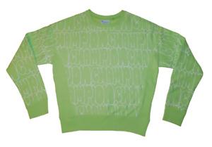 NEW NWT Women's CHAMPION Reverse Weave All Over Print Crewneck Sweatshirt XS