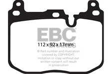 EBC Redstuff Front Brake Pads BMW 1 Series F20 M140 M140 3.0 Turbo 340HP 2016 on