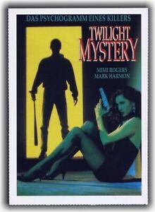 TWILIGHT MYSTERY ♦ 1991 ♦ CINEMA Filmkarte Karte ♦ Mark Harmon ♦ Mimi Rogers