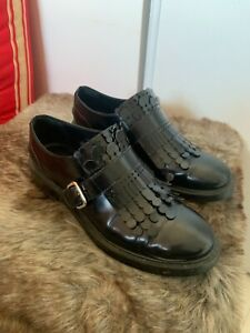 Belles chaussures TOD'S cuir noir coll 2020 val 395 e
