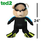 Ted 2 Movie Life Size Ted Scuba Outfit 24-Inch R-Rated Talking Plush Teddy Bear