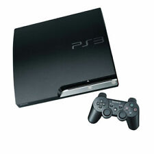 Sony PlayStation 3 PS3 Slim 160GB, BLACK, Console only, READ MINOR ISSUE!