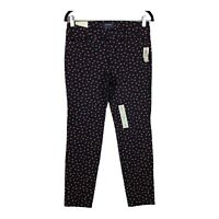 Old Navy Womens Multicolor Floral Mid Rise Ankle Length Pixie Pants Size 4