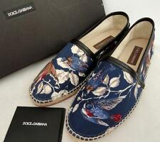 Dolce & Gabbana Men's Printed Espadrilles Trainers UK11 EU45 US12 New
