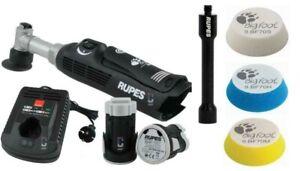 Rupes iBrid Nano Long Neck Battery Polisher w/3 pads & extension shaft
