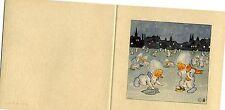 Antique Rare Ida Bohatta: Icemen: Polishing the Ice: Gift Card 7276