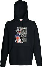 ENGLAND RUGBY LEAGUE HOODIE CRY GOD FOR HARRY ST GEORGE AND ENGLAND SUPPORTERS