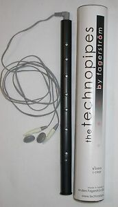 New Fagerstrom Technopipes Techno Pipes Electronic Bagpipe Black