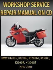 BMW K1200S K1200R K1200GT K1300S K1300R K1300GT Repair Manual 2005 2007 2010 DVD