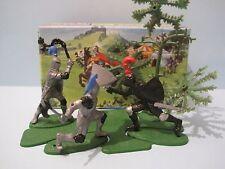 Britains plástico soldados de juguete: Caballeros en emboscada Mini Set #1082