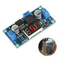Buck Step-down LM2596 Power Converter Module DC 2.5~40 to 1.25-37V LED Voltmeter