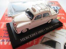 "Mercedes W 121 ""Ponton"" Typ 180 D TAXI Israel Tel Aviv (1962), Altaya 1:43 boxed"