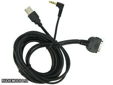 Connects2 in car iPod to USB and 3.5mm Aux Input Lead CT29IP05