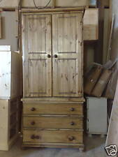 PINE FURNITURE RICHMOND TALL BOY LINEN PRESS NO FLAT PK